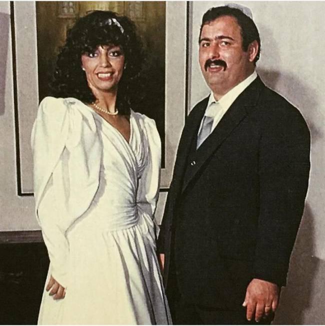 Ben Zion Berlovich e esposa