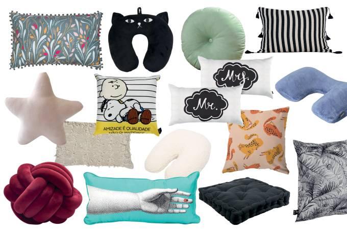 Relax de primeira: uma seleção de almofadas lindas e aconchegantes