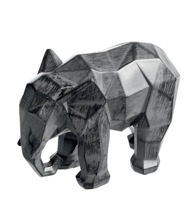 Elefante decorativo Origami 15 cm. Camicado.