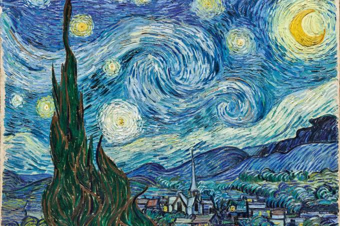 Vincent van Gogh: Noite Estrelada (1889)