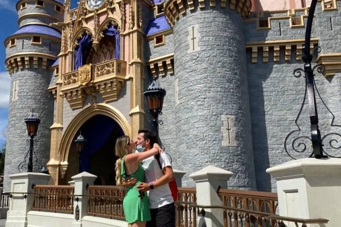 Dani Calabresa Casamento Disney