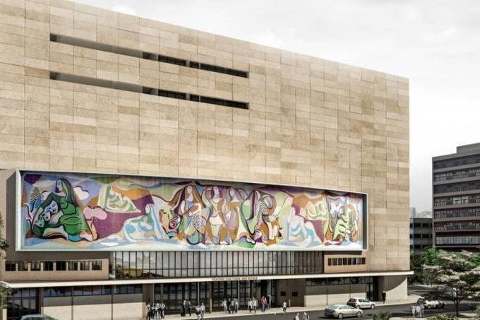 Projeto de reconstrução do Cultura Artística