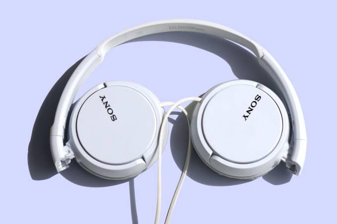 Fone Branco Sony