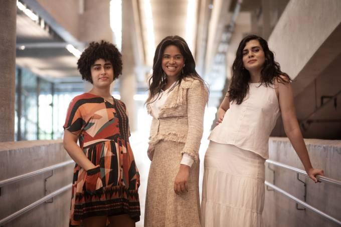 Júlia Clara de Pontes, Patrícia Borges e Bru Pereira por Jéssica Mangaba