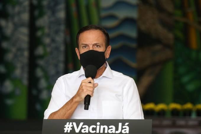 João Doria coletiva governo