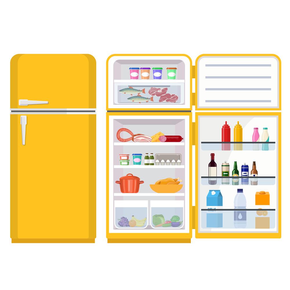 Com a geladeira em ordem, fica mais fácil evita desperdícios e começar aquela dieta.