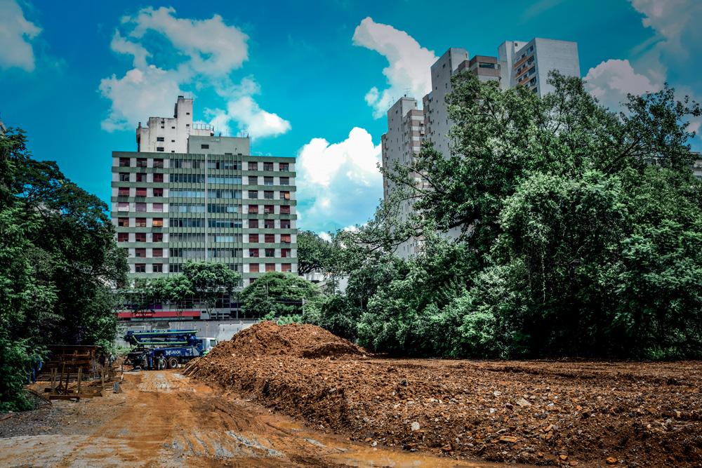 Reforma no Parque Augusto