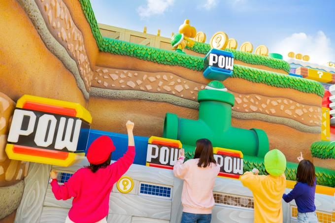 Super Nintendo World parque universal