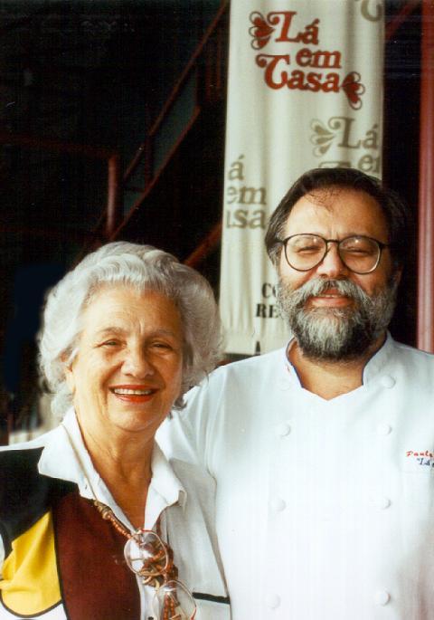 Lá em Casa Belém Paulo Martins e mãe