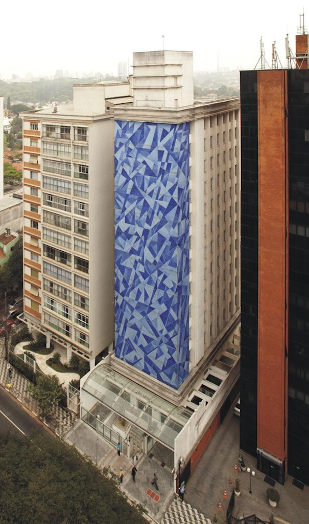 Edifício Exclusive, na Avenida Angélica