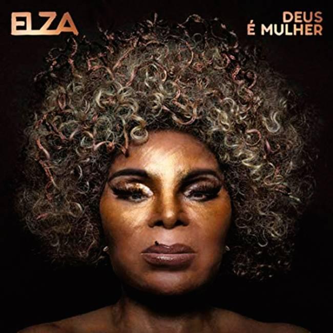 Capa do CD Deus É Mulher, Elza Soares