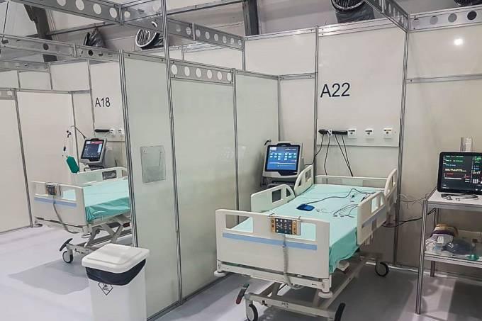 Hospital de Campanha contra a Covid-19