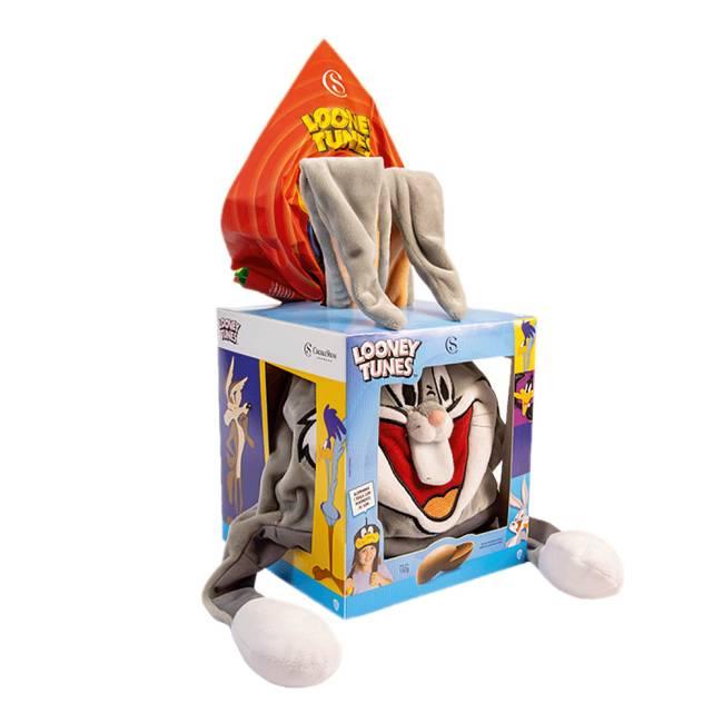 Ovo de Páscoa da coleção Looney Tunes da Cacau Show no personagem Pernalonga