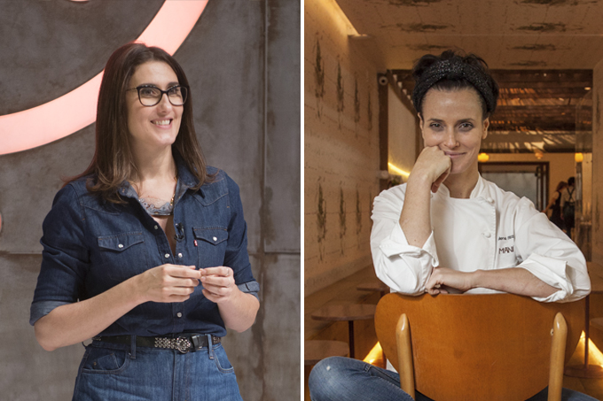 Paola Carosella e Helena Rizzo