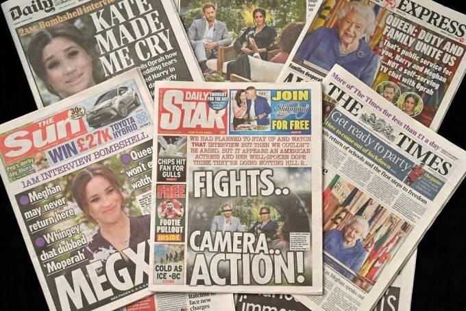 repercussão-tabloides-britânicos-entrevista-harry-meghan