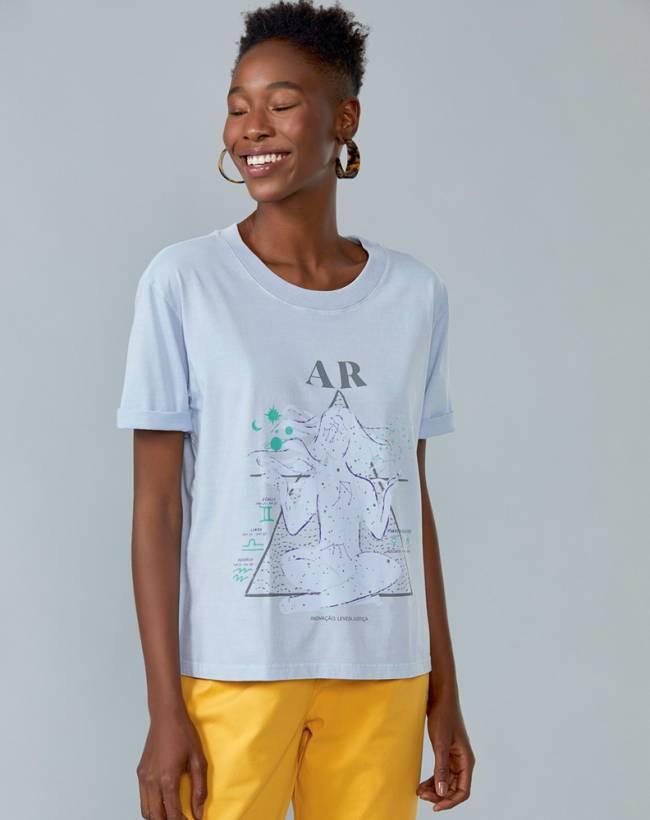 T-shirt elemento ar. Amaro,