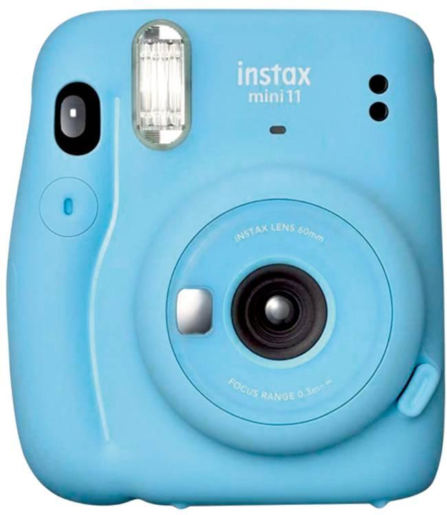 Câmera azul Instax
