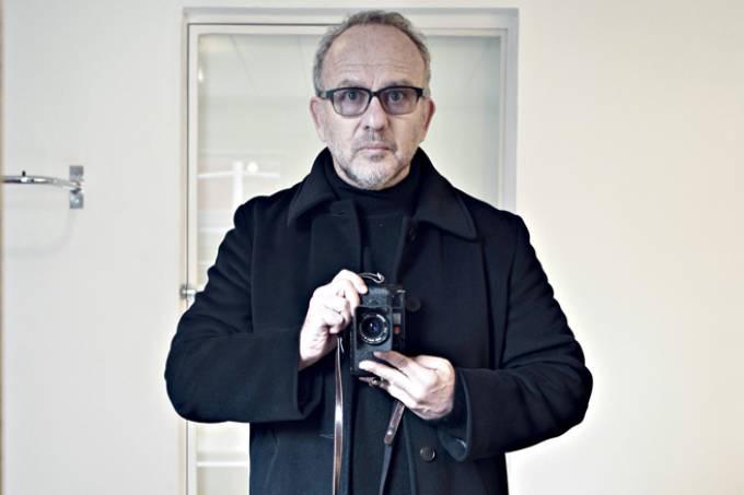 O fotógrafo Bob Wolfenson.