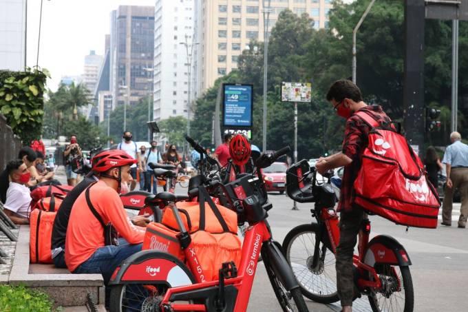 Paralisação entregadores (Rovena Rosa-Agência Brasil)