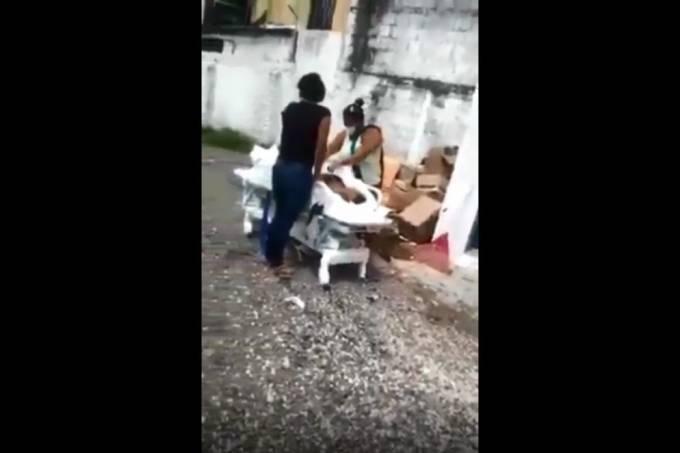 vídeo – roubo de corpo