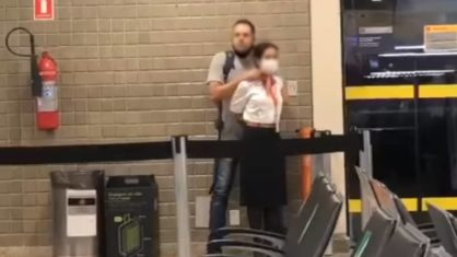 Homem faz mulher refém no Aeroporto de Guarulhos