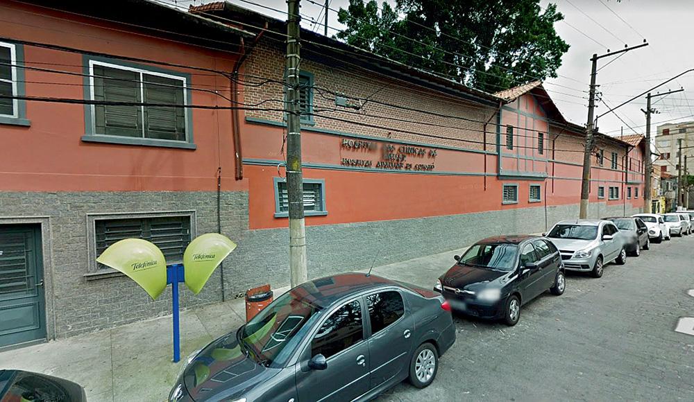 imagem da fachada da antiga construção do complexo hospitalar cotoxó