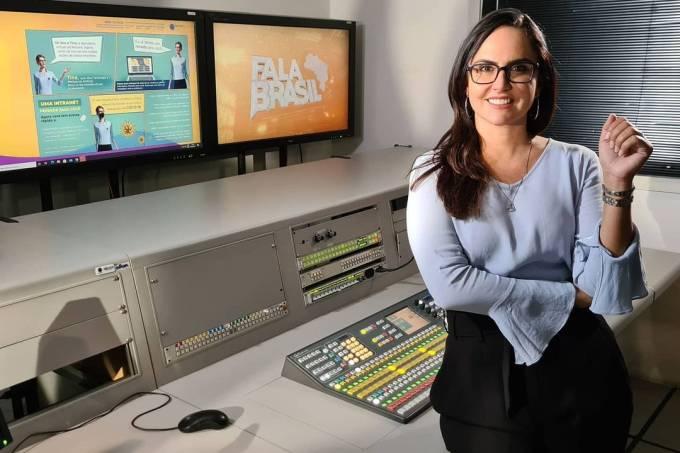 Carla Cecato: jornalista foi demitida da Record após 16 anos