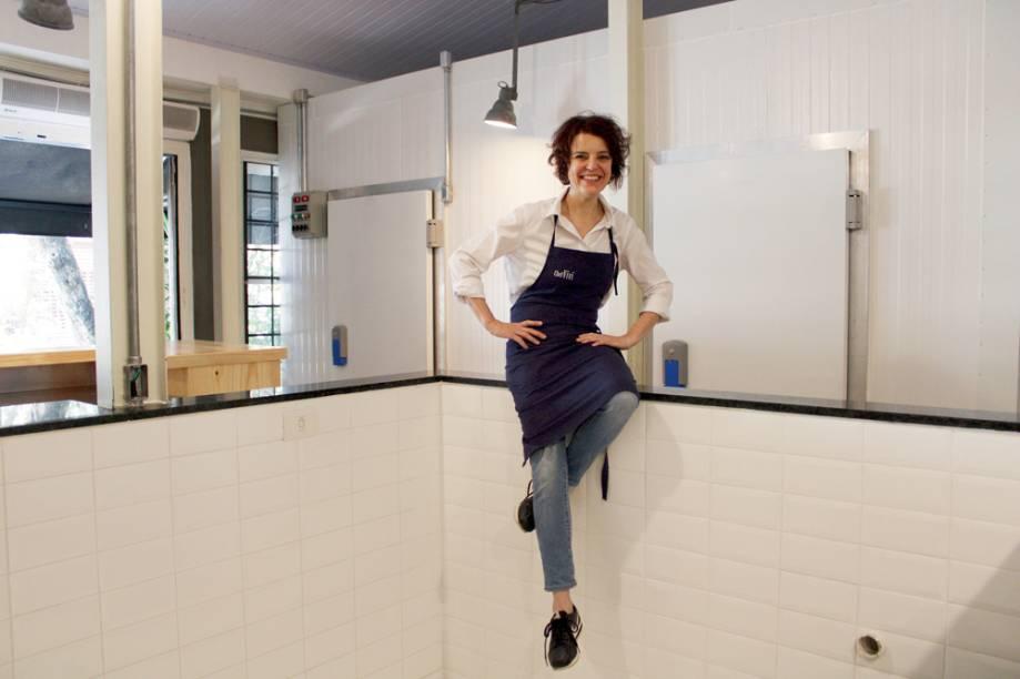 A chef no espaço reformado: estreia de novo formato