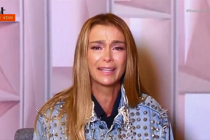 Mônica Martelli chora ao falar de Paulo Gustavo