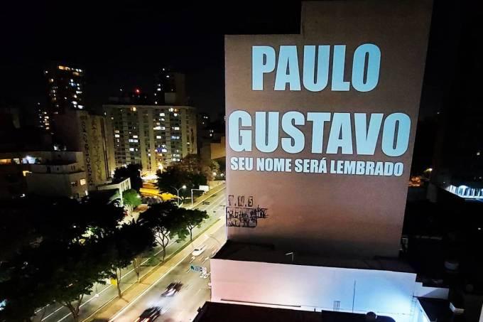 Paulo Gustavo Projeção