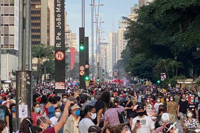 manifestação avenida paulista
