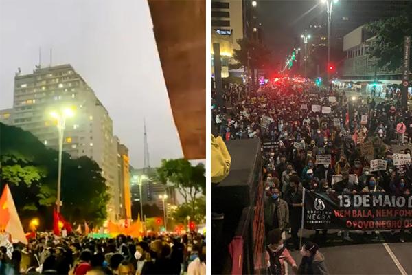 protesto antirracista avenida paulista