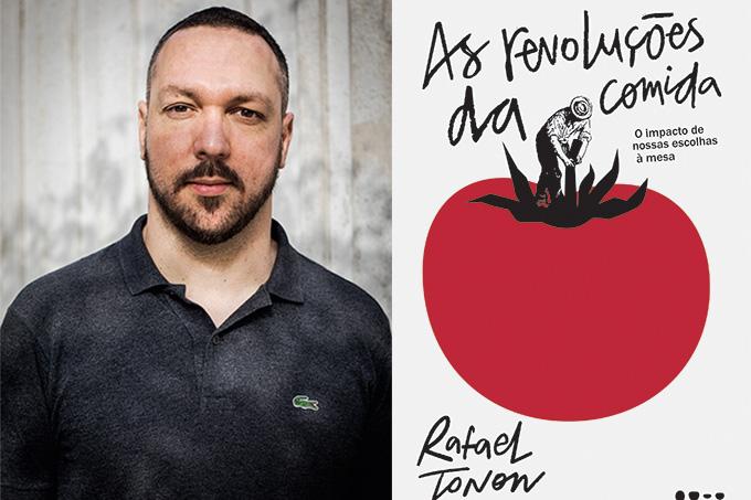 Rafael Tonon e seu livro