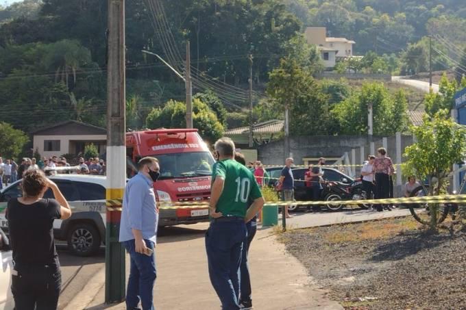 Crime em creche em Santa Catarina