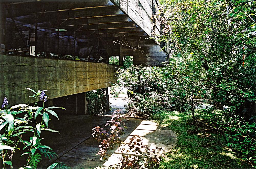 casa de paulo mendes da rocha no butantã, bem arborizada