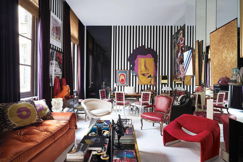 Sig Bergamin transforma seu apartamento em Paris