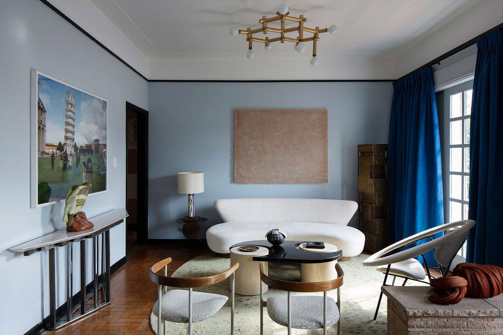 Apartamento antigo ganha cara nova pelas mãos de Juliana Vasconcellos