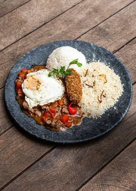 Picadinho: ganha a parceria de ovo frito, arroz, feijão e farofa