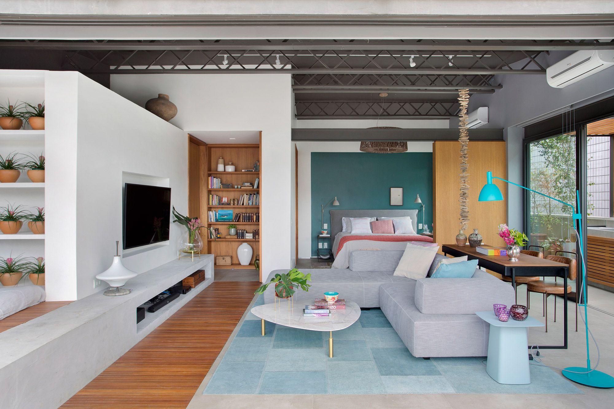 Cobertura duplex no Rio de Janeiro possui área íntima de 151 m².