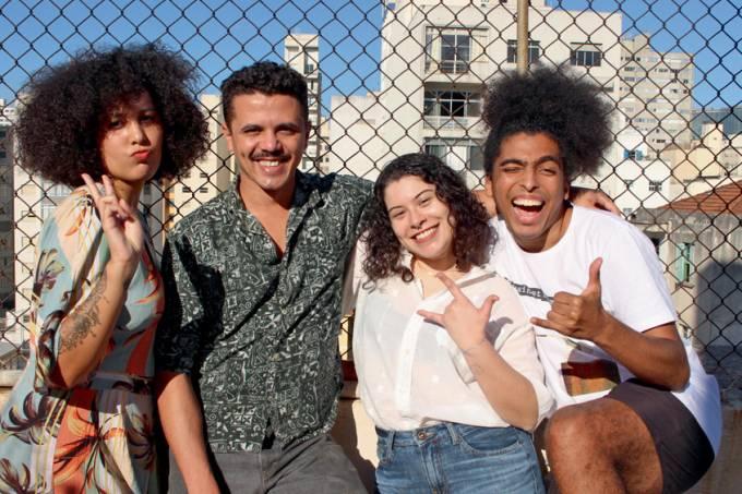 Ana Beatriz Felicio_ Vagner de Alencar, Gabriela Carvalho e Rômulo Cabrera_(SPOTIFY-DIVULGAÇÃO)