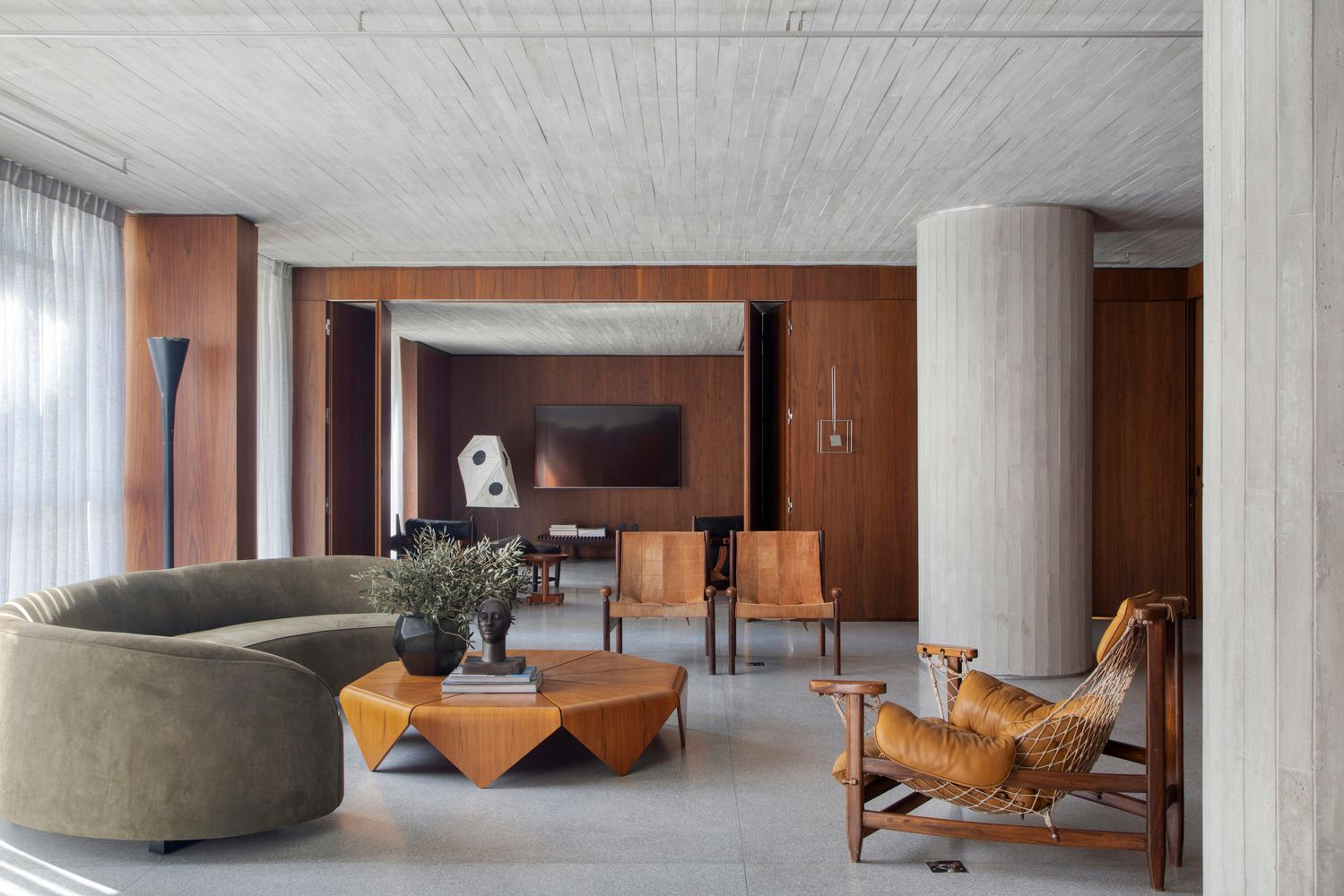 Apartamento DN coloca a arte como um dos pilares fundamentais do projeto