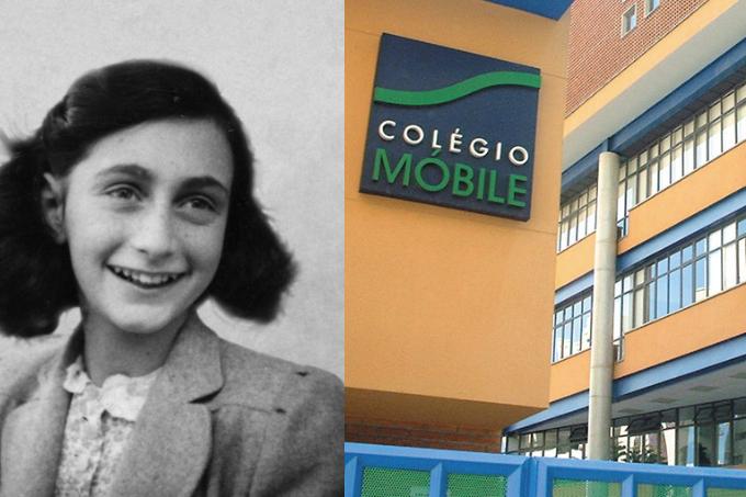 Anne Frank: pais de alunos da Escola Móbile questionaram direção
