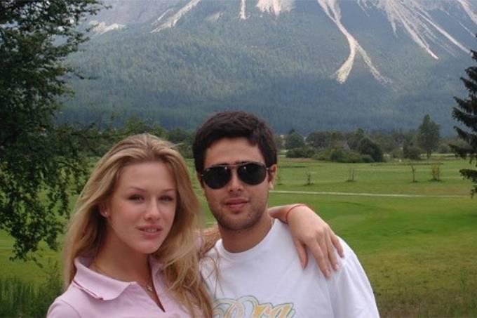 Fiorella Mattheis e Roberto Marinho Neto, abraçados (Reprodução Instagram)