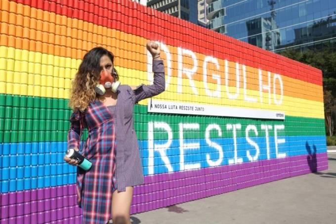 Mural LGBTQIA+ (DIVULGAÇÃO)