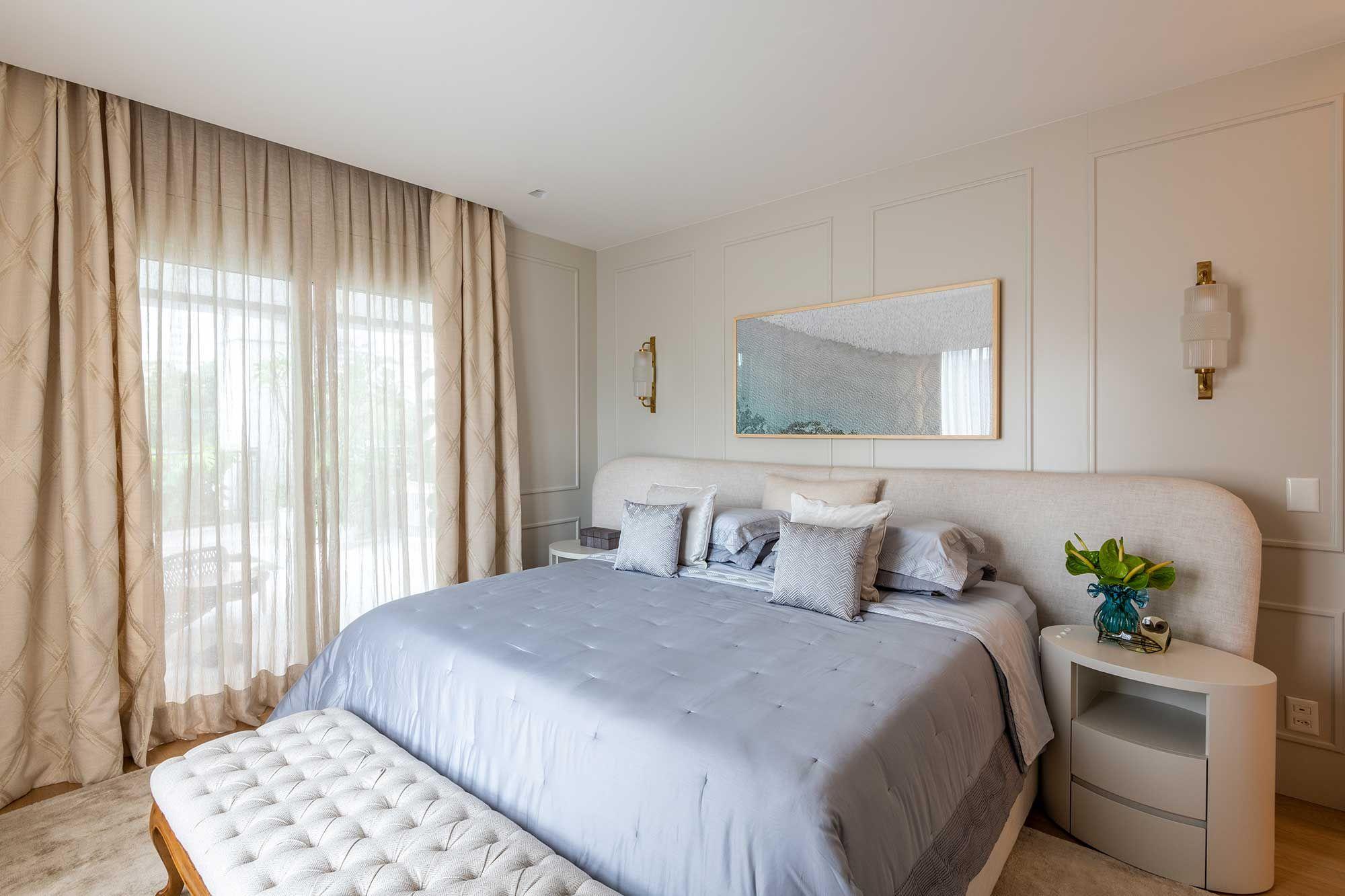 Com muito conforto, apartamento para família valoriza o encontro.