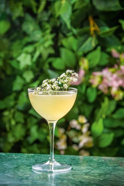 Fiore com rum envelhecido: inspiração no daiquiri