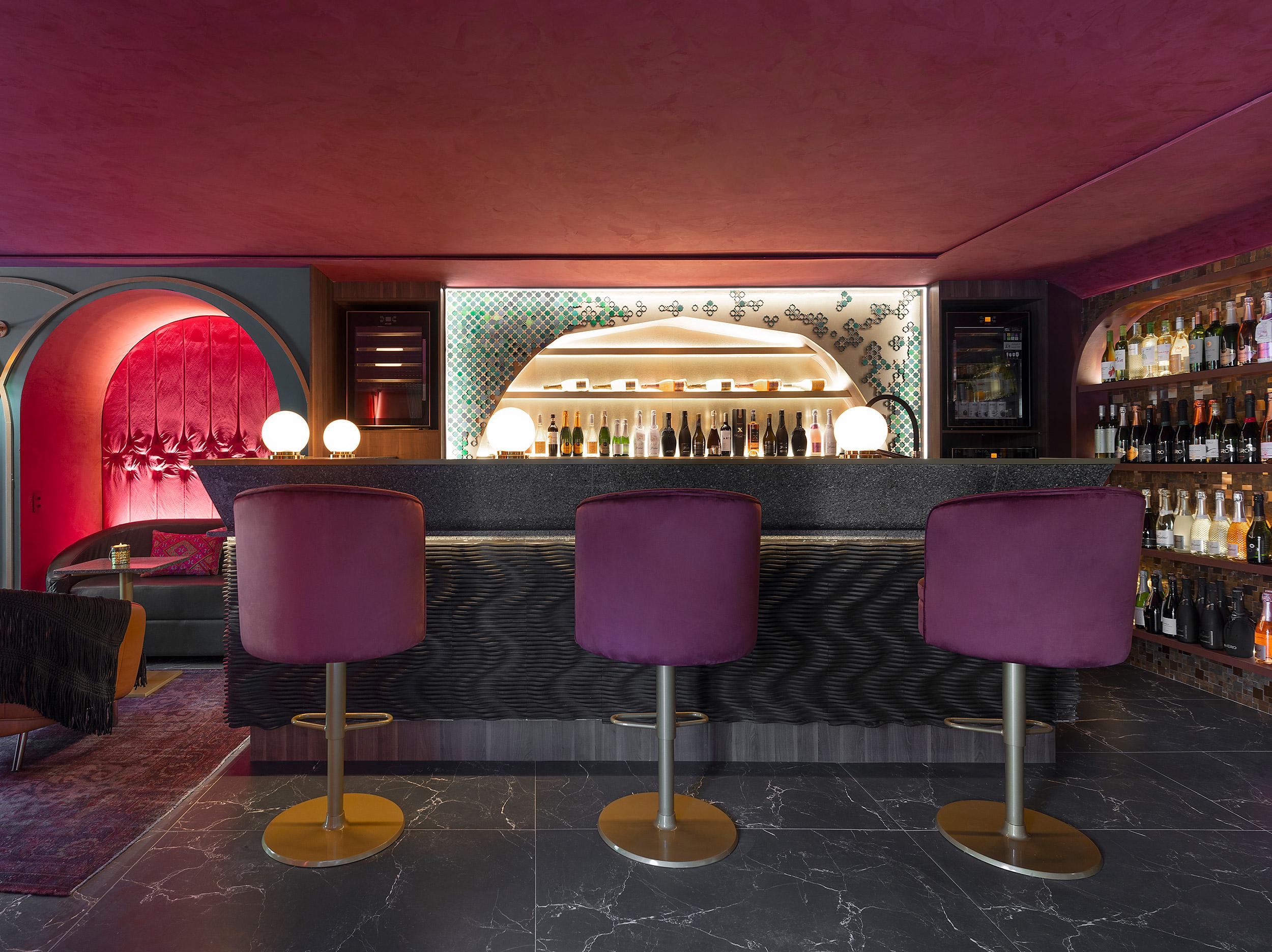 Wine Bar Pra lá de Marrakech - Alessandra Casagrande.