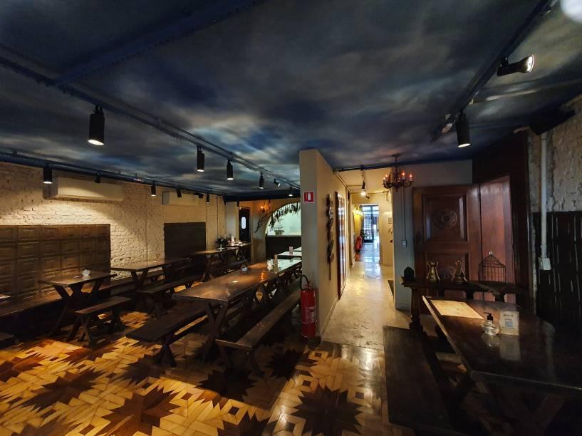 Primeiro salão, no piso térreo