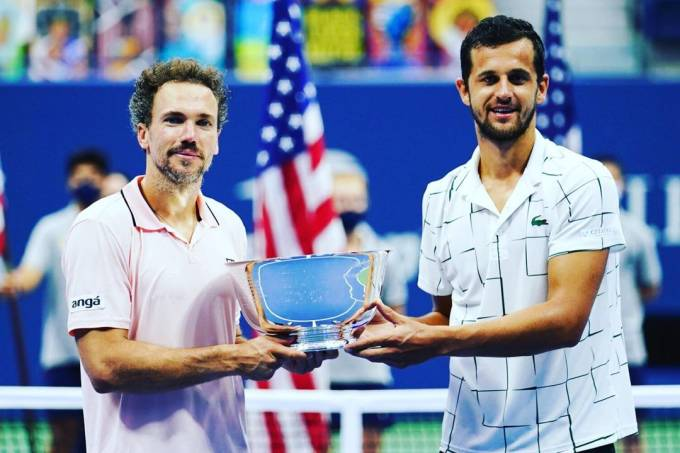 Bruno Soares dupla US Open