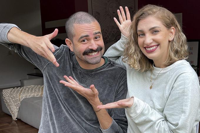 Carol Moreira e Tiago Souto Atual capa